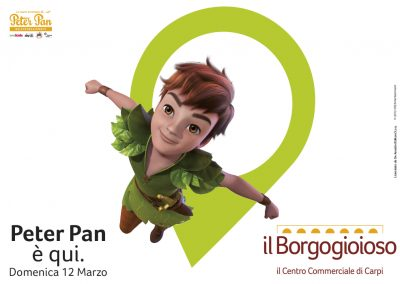 Peter Pan è qui!