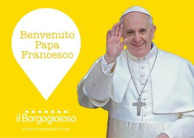 Visita del Papa del 2 Aprile: informazioni per clienti e pellegrini