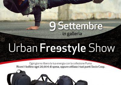 Urban Free Style Show! Sabato 9 settembre.