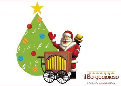 Babbo Natale è qui! Domenica 10 dicembre.