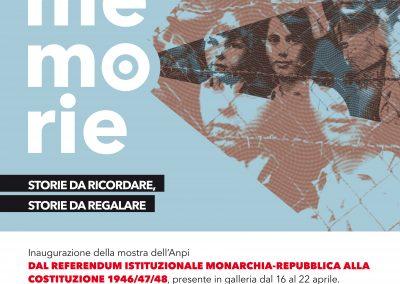 DAL REFERENDUM ISTITUZIONALE MONARCHIA-REPUBBLICA ALLA COSTITUZIONE 1946/47/48. Dal 16 al 22 APRILE.