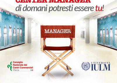 Vuoi diventare SHOPPING CENTER MANAGER?Ad ottobre lo IULM di Milano organizza il primo Master Specialistico, unico in Italia.