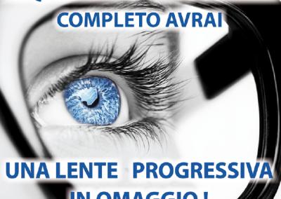 OTTICA RIGHETTI: acquistando un occhiale completo avrai una lente progressiva in omaggio!