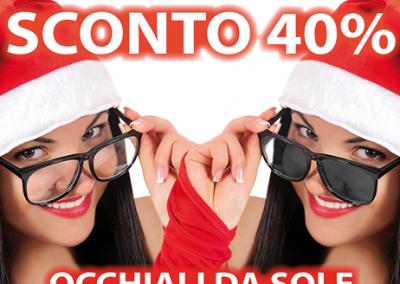 Da OTTICA RIGHETTI: Da OTTICA RIGHETTI: SCONTO 40% su occhiali da sole, montature da vista e nuove collezioni! Solo dal 21 al 24 dicembre 2018.