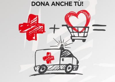 Domenica 17 e 24 febbraio vieni in Galleria e dai il tuo contributo per sostenere la Croce Rossa Italiana.