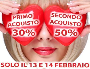 Da OTTICA RIGHETTI: solo il 13 e il 14 febbraio 2019, DOPPIO SCONTO!