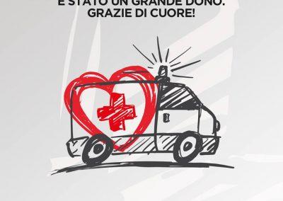 Dai Centri Commerciali d'Italia e la Croce Rossa Italiana grazie per il vostro contributo!