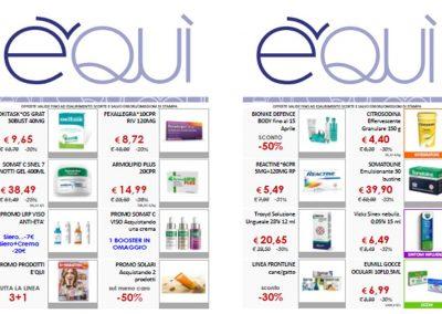 Parafarmacia E'QUI vieni a scoprire le offerte del mese di Aprile, tanti prodotti scontati fino al 50%!