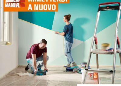 Da OBI: È ora di rimettersi a nuovo! Prepara gli attrezzi per cambiare il look della tua casa.