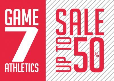 Da Game7Athletics: SALDI FINO AL 50% DI SONTO!