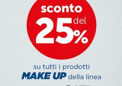 Sconto del 25% su tutti i prodotti MAKE UP della linea BIONIKE. Fino al 28 luglio 2019.