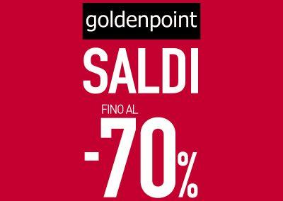 Da GOLDENPOINT: SALDI AL -70%.