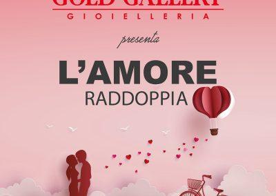 Da GOLD GALLERY: Solo questo weekend un gesto d'amore vale doppio!