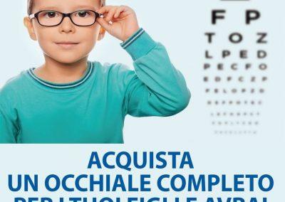 Da OTTICA RIGHETTI: acquista un occhiale completo per i tuoi figli e avrai una lente in omaggio!