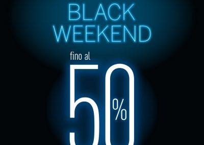 Black Friday -50% su tutta la collezione Il black weekend è arrivato da Goldenpoint!