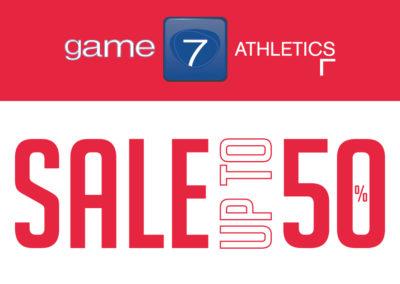 SPORT, STYLE, SALE! Inizia un'estate di occasioni da Game7Athletics.