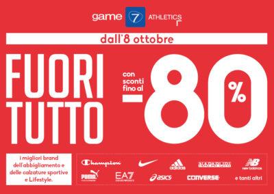 FUORI TUTTO da Game7Athletics!