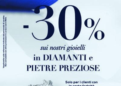 Vieni a scoprire nel punto vendita Bluespirit la promozione -30% sui nostri gioielli…