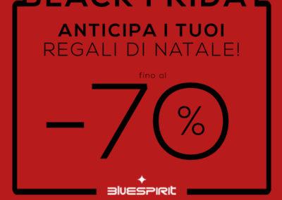 Bluespirit in Black! Vieni a trovarci nel nostro punto vendita, fino al -70% su gioielli e orologi.
