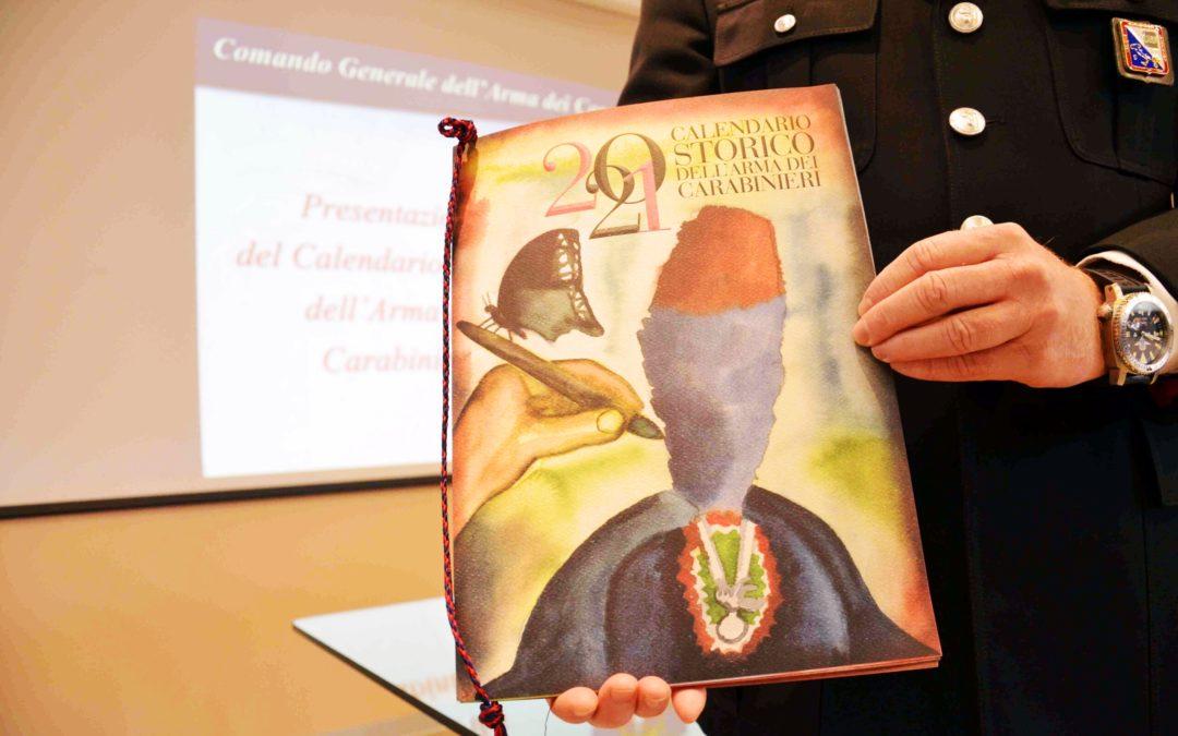 Il Calendario 2021 dei Carabinieri dedicato a Dante Alighieri