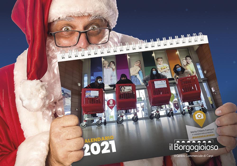 Natale 2021 Calendario.Giovedi 17 E Venerdi 18 Dicembre Babbo Natale Regala Il Calendario 2021 Il Borgogioioso Il Centro Commerciale Di Carpi
