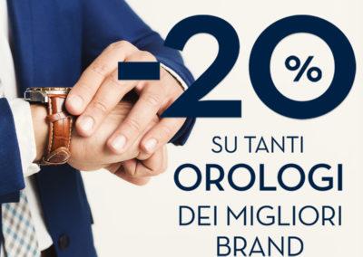 Ti aspettiamo da Bluespirit con la promozione -20% su tanti orologi uomo dei migliori brand!