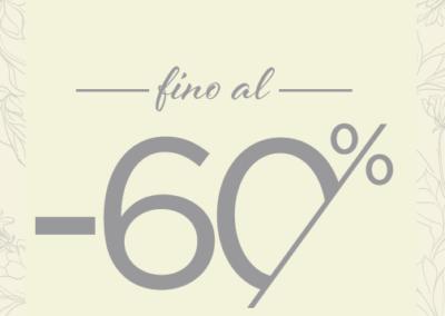 Da OLTRE, SALDI d'inverno fino al 60%!!!